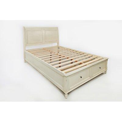 Beatrice Queen Platform Bed Color: Ivory