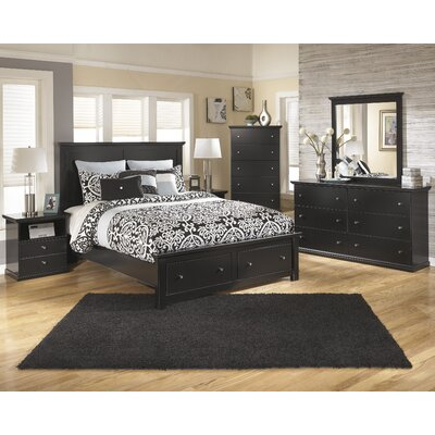 Beaumont Queen Platform Configurable Bedroom Set
