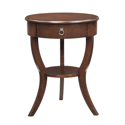 Beekman End Table With Storage� Color: Espresso