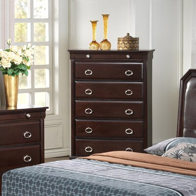 Clarkstown 6 Drawer Chest Color: Cappuccino