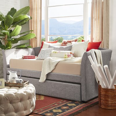 Burlington Daybed with Trundle Color: Gray