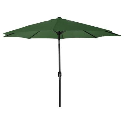 New Haven Market Umbrella Fabric: Green