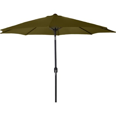 New Haven Market Umbrella Fabric: Khaki