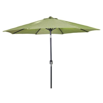 New Haven Market Umbrella Fabric: Olive