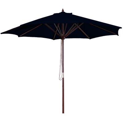New Haven 9 Market Umbrella Fabric: Black