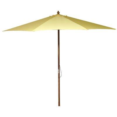 New Haven 9 Market Umbrella Fabric: Canary