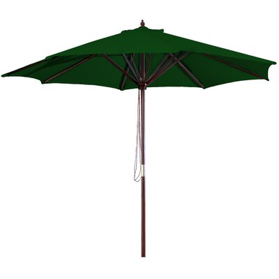 New Haven 9 Market Umbrella Fabric: Green