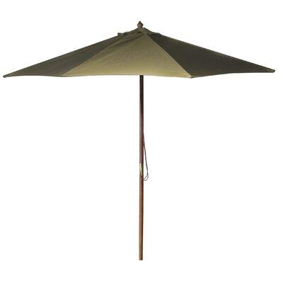 New Haven 9 Market Umbrella Fabric: Khaki