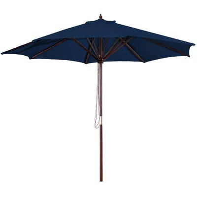 New Haven 9 Market Umbrella Fabric: Navy