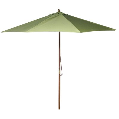 New Haven 9 Market Umbrella Fabric: Olive