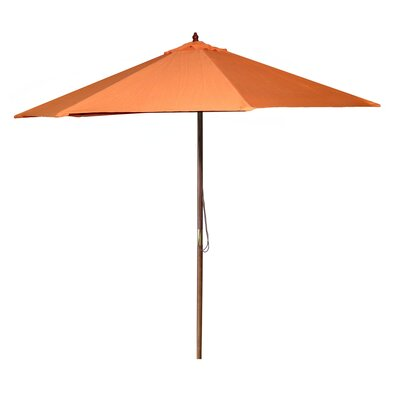 New Haven 9 Market Umbrella Fabric: Orange
