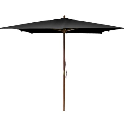 New Haven 8.5 Square Market Umbrella Fabric: Black