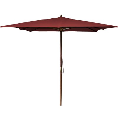 New Haven 8.5 Square Market Umbrella Fabric: Burgundy