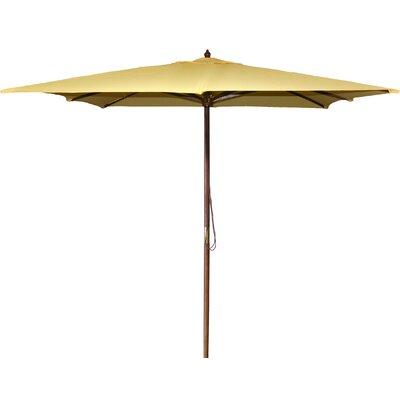 New Haven 8.5 Square Market Umbrella Fabric: Canary