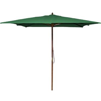 New Haven 8.5 Square Market Umbrella Fabric: Green