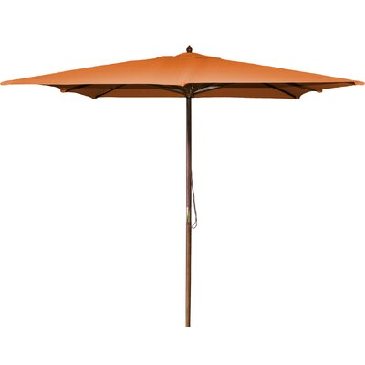 New Haven 8.5 Square Market Umbrella Fabric: Orange