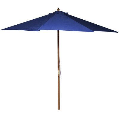 New Haven 9 Market Umbrella Fabric: Royal