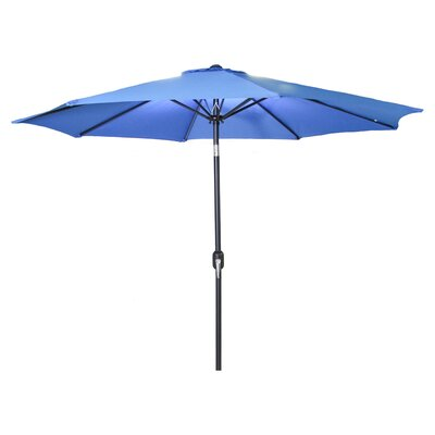 New Haven Market Umbrella Fabric: Royal