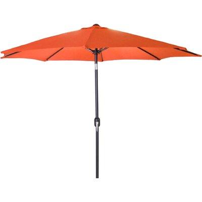 New Haven Market Umbrella Fabric: Orange