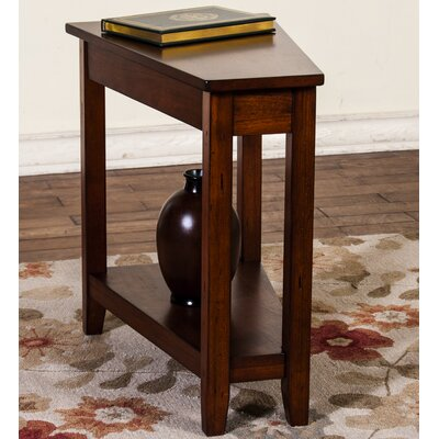 Westford Chairside Table Finish: Brown Cherry