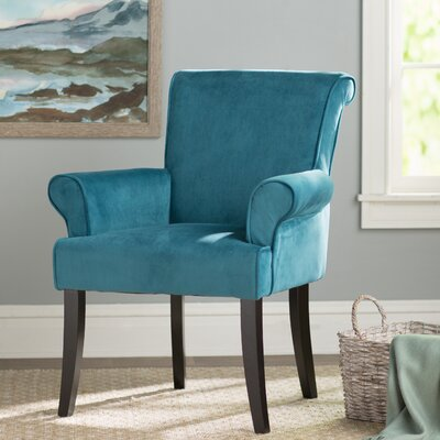 Geneva Arm Chair Upholstery: Dark Blue