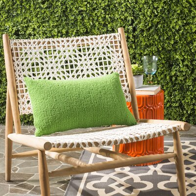 Providence Indoor/Outdoor Throw Pillow Color: Sunshine Green