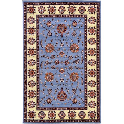 Fairmount Blue Area Rug Rug Size: 5 x 8