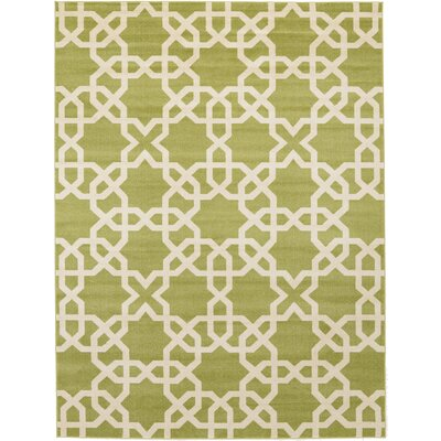 Moore Green Area Rug Rug Size: Rectangle 9 x 12