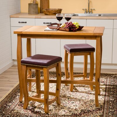 Finleyville 3 Piece Pub Table Set