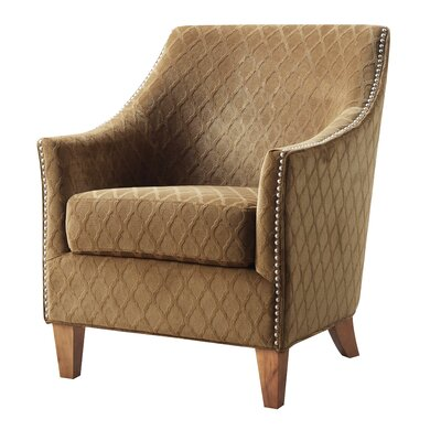 Pagel Armchair Upholstery: Wembley Pecan