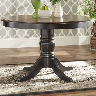 Westlund Dining Table Base Finish: Black