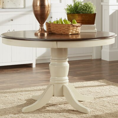 Westlund Dining Table Base Finish: White