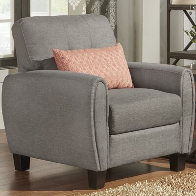 Derry Recessed Upholstered Armchair