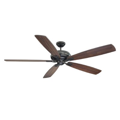 68 Peever 5-Blade Ceiling Fan Finish: Rich Espresso
