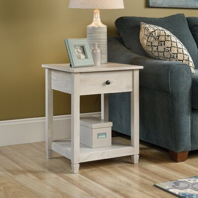 Lamantia End Table With Storage� Color: Chalked Chestnut