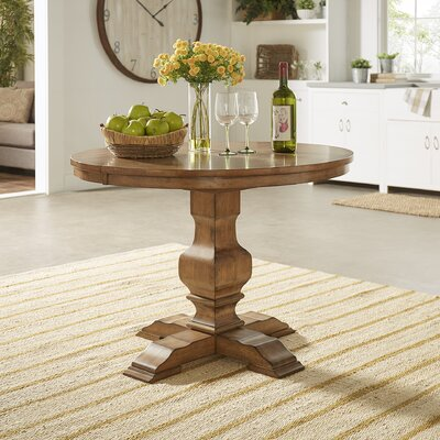 Fortville Extendable Dining Table Base Finish: Oak