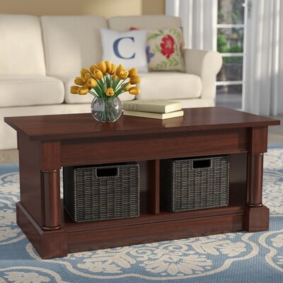 Henley Lift Top Coffee Table Color: Select Cherry