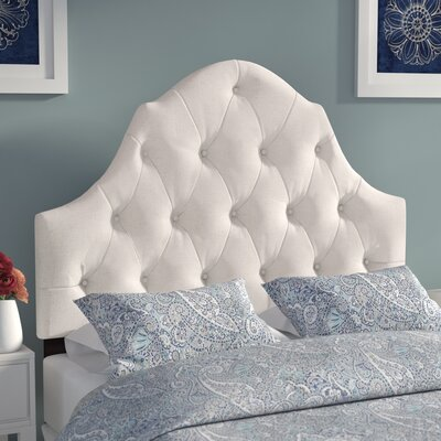 Redfield Upholstered Panel Headboard Size: King, Upholstery: Linen