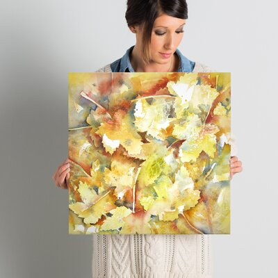 Autumn 3 Painting Print on Wrapped Canvas Size: 18