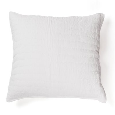 Hessville Cotton Throw Pillow Color: White