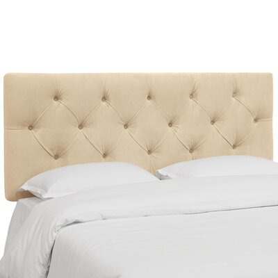 Plattekill Upholstered Panel Headboard Size: Full, Upholstery: Buckwheat