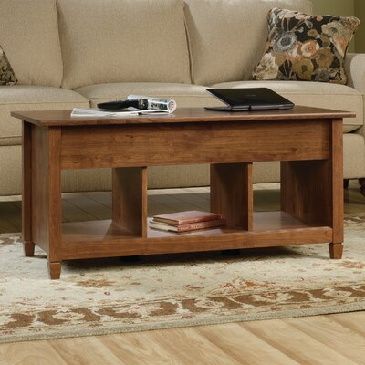 Lamantia Coffee Table with Lift Top Finish: Auburn Cherry