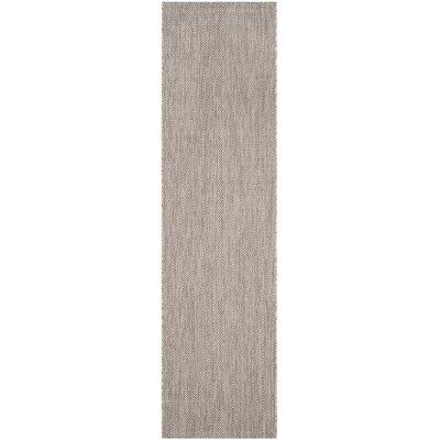 Adelia Beige Indoor/Outdoor Area Rug Rug Size: Rectangle 27 x 5