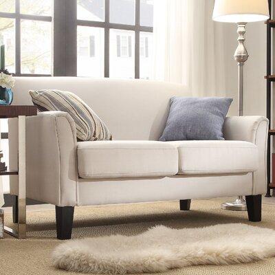 Minisink Loveseat Upholstery: Beige