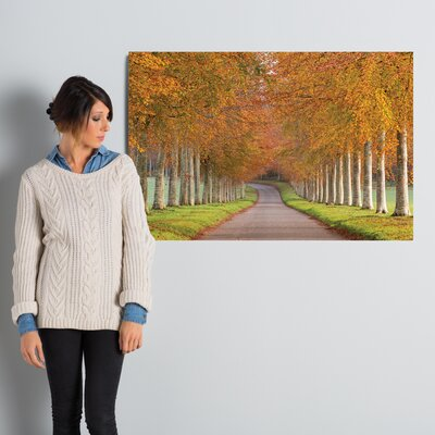 Autumn Splendour Photographic Print on Wrapped Canvas Size: 26