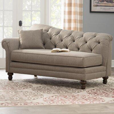 Wheatfield Serta Chaise Lounge Upholstery: Abington Safari