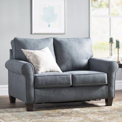 Osceola Twin Sleeper Sofa Upholstery: Denim