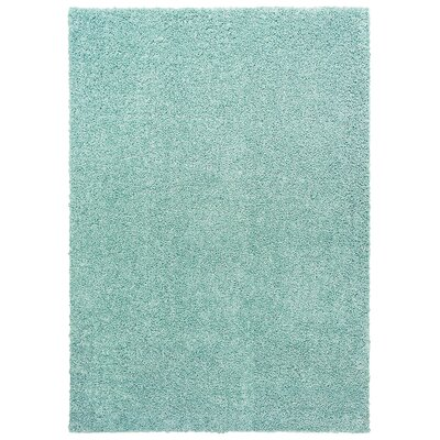 Broncho Blue Area Rug Rug Size: 5 x 7
