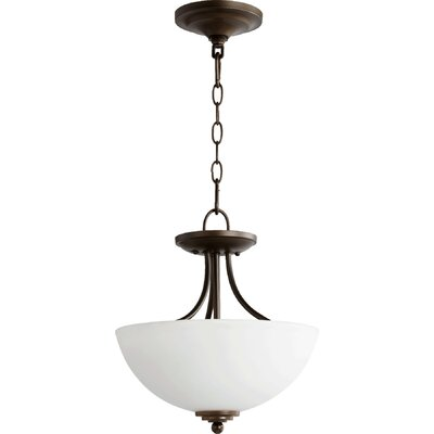 Hewlett 2-Light Inverted Pendant