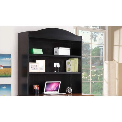 Courtdale 46 H x 45.5 W Desk Hutch Finish: Ebony